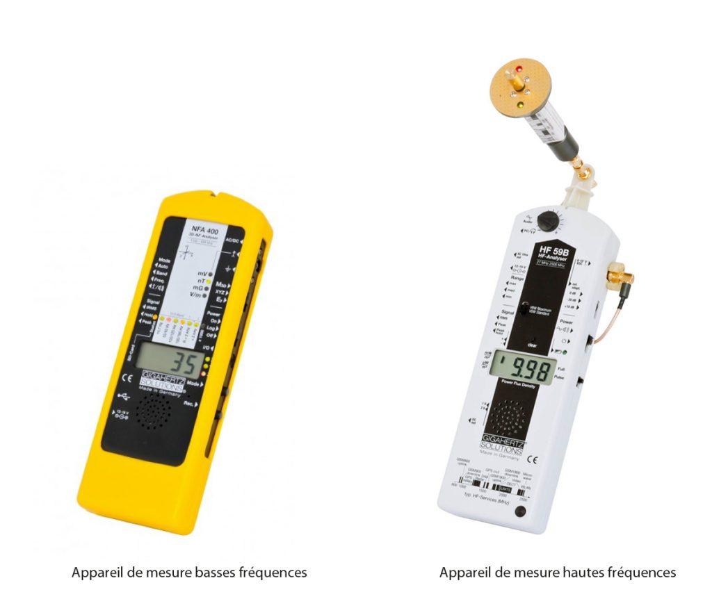 mesure, appareil, électromagnétique, fréquence